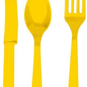 Bestik Sæt, gul