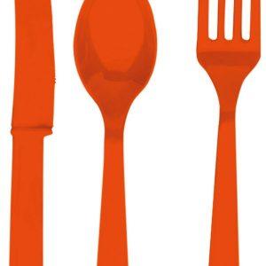 Bestik Sæt, orange